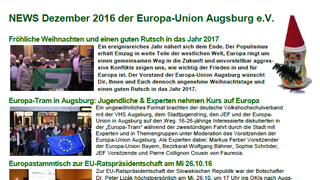 News der Europa-Union Augsburg
